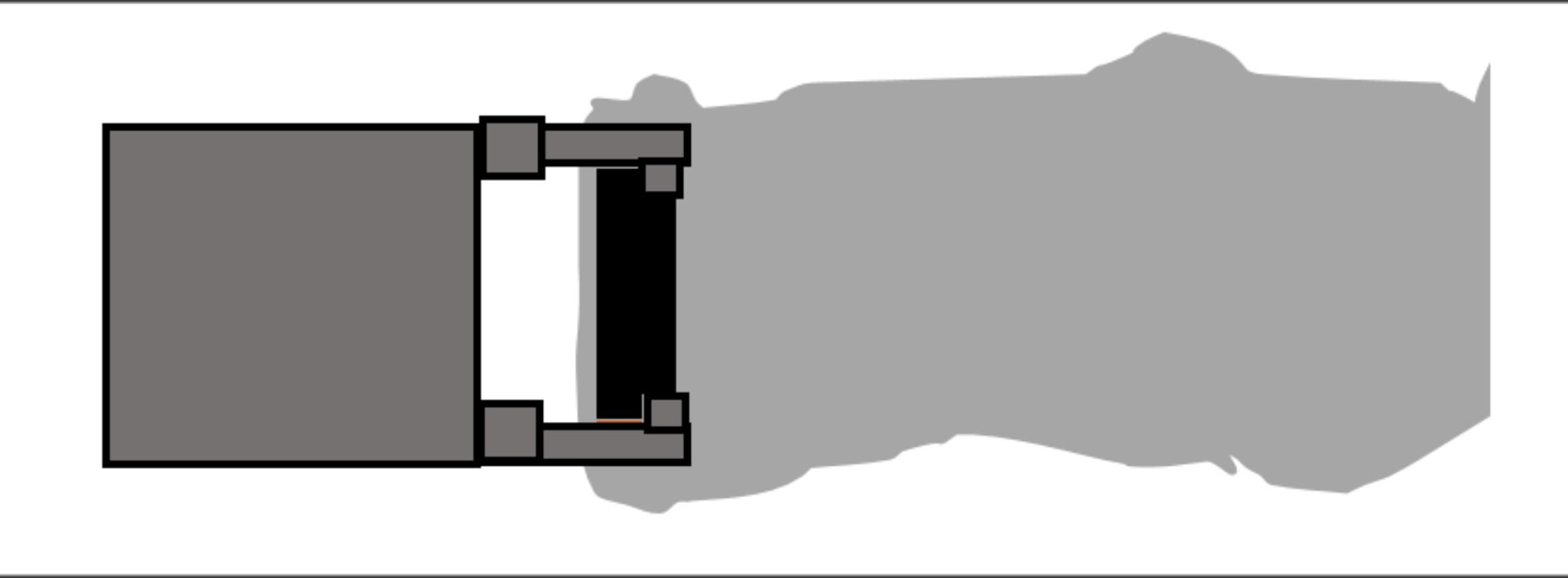 Ejecución de muro pantalla con junta trapezoidal y circular II